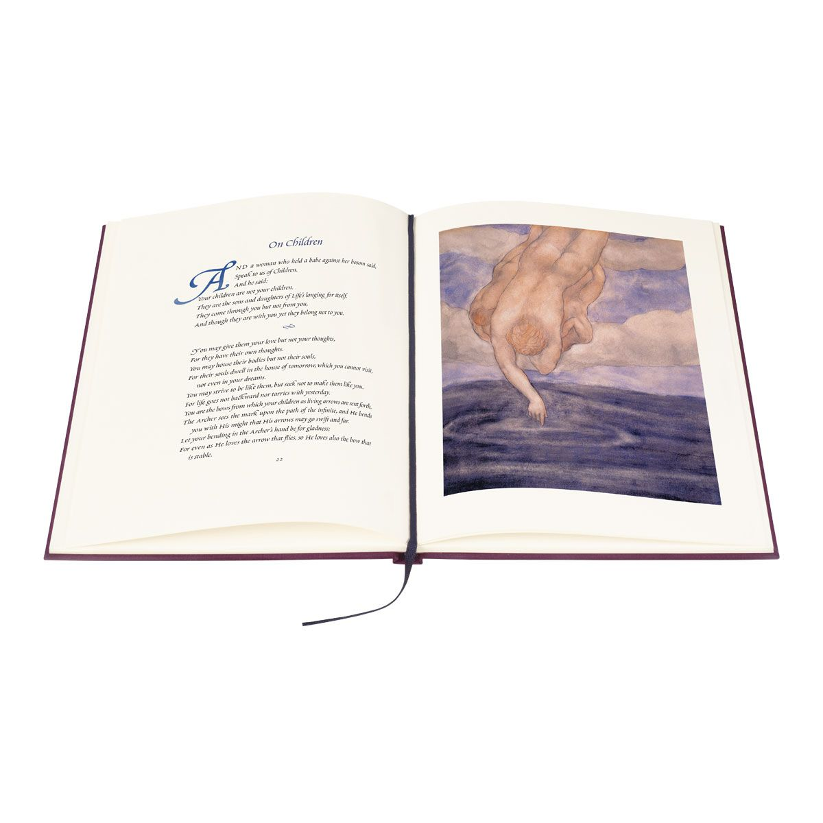 The Folio Society Edition of The Prophet (Color Illustration)