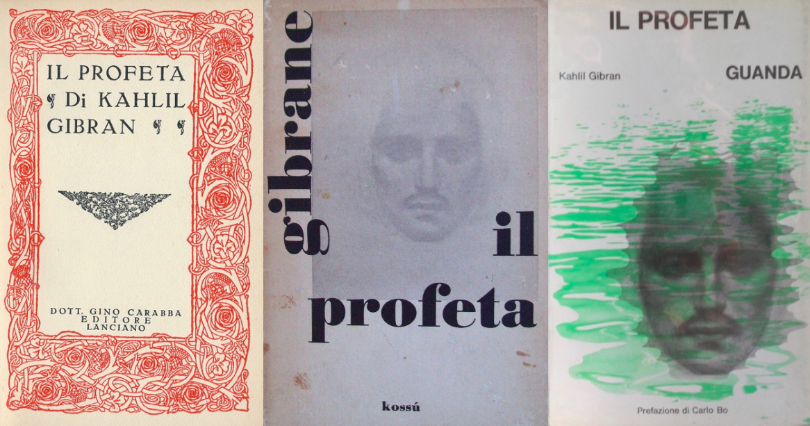 Early Italian Translations of The Prophet (1936, 1966, 1968)