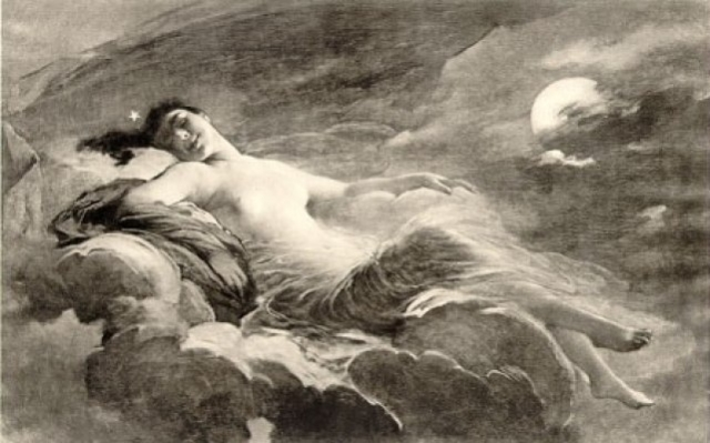 Night by Charles Joshua Chaplin in the 1st issue of Al Funoon