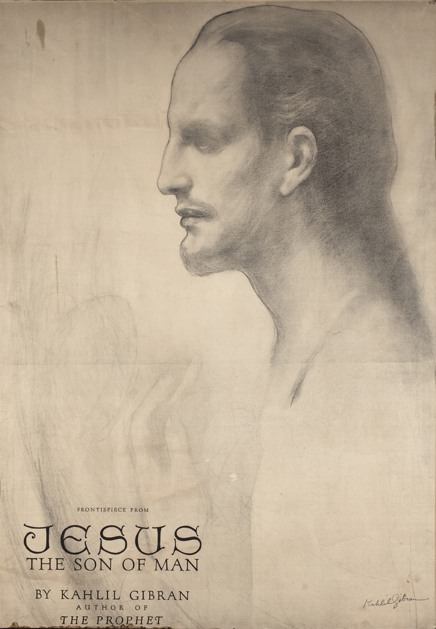 Frontispiece of Jesus the Son of Man 1928