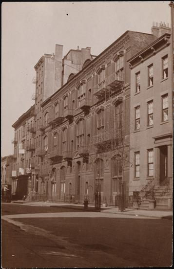Studio building 51 West 10th Street - October 22, 1914