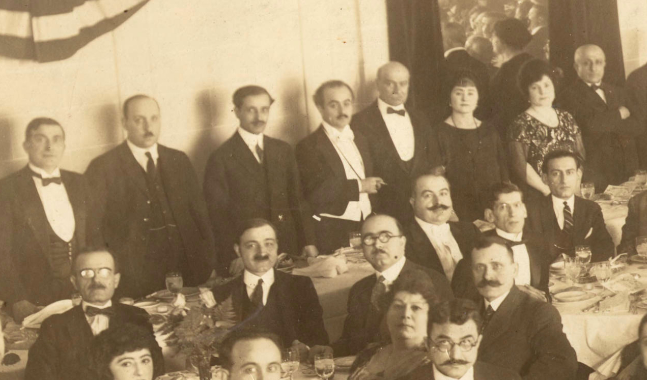 Attending Jubilee Guests (Gibran holding Cigarette)