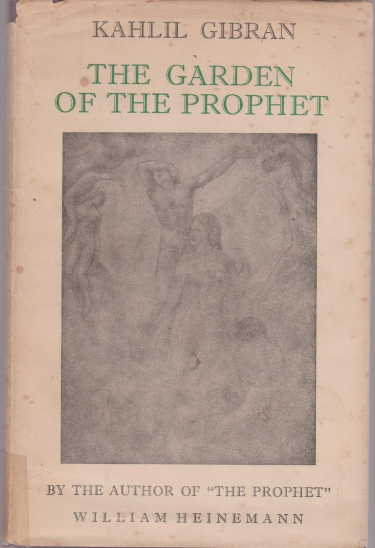 The Garden of the Prophet, London: Heinemann, 1954 [1st edition: New York: Knopf, 1933].