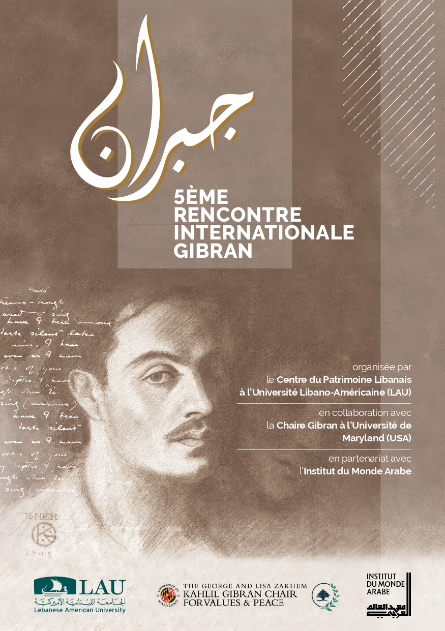 5ème Rencontre Internationale Gibran, Paris: Institut du Monde Arabe, 3 octobre 2019.