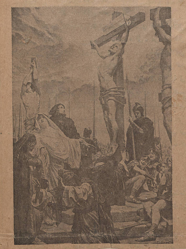 Yasu' al-Maslub [The Crucified], Mira'at al-Gharb, vol. 12 no. 1357, April 14, 1911